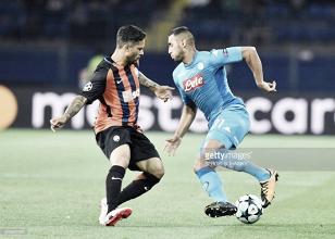 Napoli vs Shakhtar Donetsk en vivo y en directo online en Champions League 2017