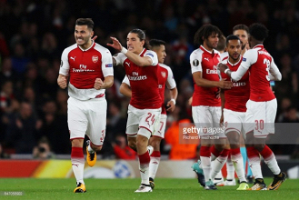 Arsenal 3-1 FC Köln: Gunners come from behind to seal Europa League win