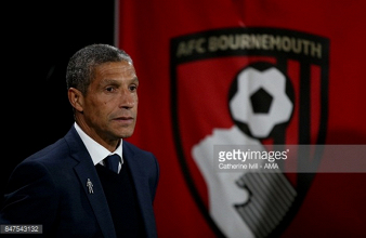 Chris Hughton calls for his players to learn from their tough defeat to Bournemouth