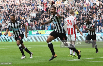 Newcastle United 2- 1 Stoke City: Lascelles the hero again as Magpies record third consecutive win