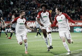 Augsburg surpreende, suporta pressão do RB Leipzig e entra na briga por torneios europeus