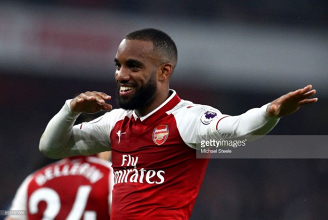 Arsenal 2-0 West Brom: Lacazette brace seals win for Gunners