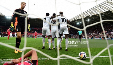 Swansea City 2-0 Huddersfield Town: Player Ratings as Swans pick up first home win