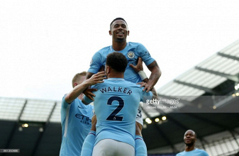 Manchester City 7-2 Stoke City: Seven heaven for Citizens as they run riot once more against poor Potters