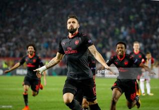 Crvena Zvedza 0-1 Arsenal: Giroud magic gives Gunners priceless win in Belgrade