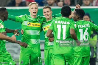 Fortuna Düsseldorf 0-1 Borussia Mönchengladbach: Thorgan Hazard sends Foals through