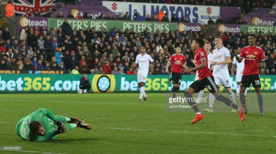 Swansea City 0-2 Manchester United: Lingard brace sends Mourinho's men through to the quarter-finals
