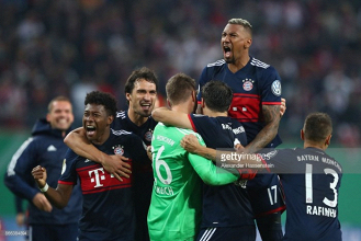 RB Leipzig (4) 1-1 (5) Bayern Munich: Gripping cup tie settled on penalties