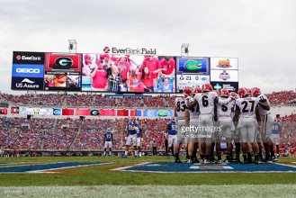 Georgia Bulldogs take number one spot as Playoff Committee unveil first rankings of 2017