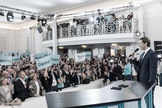 Sebastian Kurz, líder del ÖVP, consigue el primer puesto en las elecciones austriacas