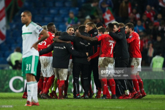 Switzerland (1) 0-0 (0) Northern Ireland: O'Neill's side suffer World Cup heartbreak at the final hurdle