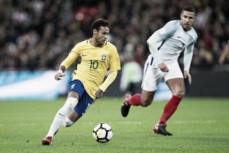 Em jogo morno, Inglaterra e Brasil não saem do zero