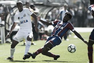 De olho em vaga na Libertadores, Bahia encara Santos na Arena Fonte Nova