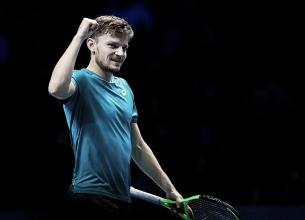 Goffin quebra tabu, vence Federer pela primeira vez na carreira e vai à decisão do ATP Finals