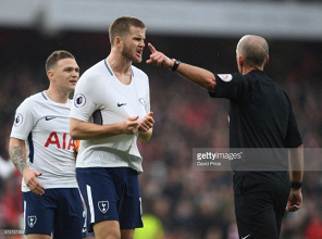 Eric Dier: Everyone could see that Mike Dean made the wrong decision in Arsenal loss