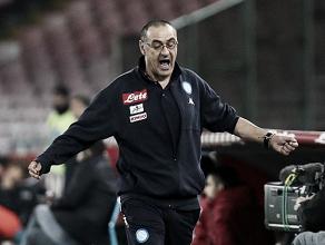Sarri comemora triunfo do Napoli na Champions League e destaca importância de Insigne