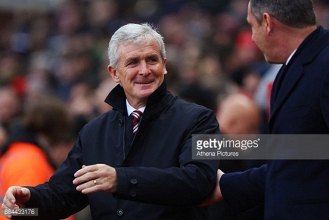 "Mark Hughes believes his side had to show ""courage and character"" in win over Swansea City"