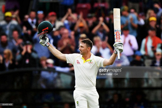 The Ashes - Second Test, Day Two: Marsh's brilliance propels hosts to big first innings score as rain brings an early end to the day