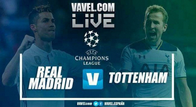 Real Madrid vs Tottenham en vivo y en directo online en Champions League 2017