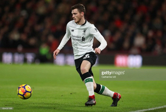 "Left-back Robertson ""made the difference"" for Liverpool in Bournemouth win, says Jürgen Klopp"