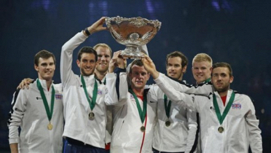 Murray offre la Coupe Davis à la Grande-Bretagne