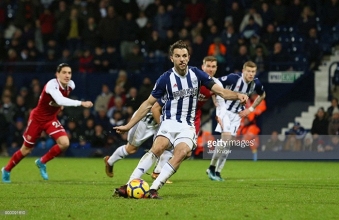 West Bromwich Albion 1-1 Arsenal: Controversial Rodriguez penalty snatches late point for Baggies