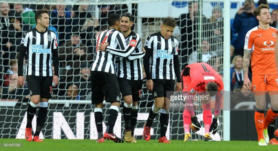 Newcastle United 3-1 Luton Town: Newcastle avoid cup upset as they ease past testing Town