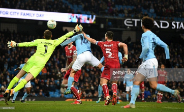 Manchester City 2-1 Bristol City: Agüero comes off the bench to head in stoppage time winner