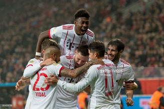 Bayer Leverkusen 1-3 Bayern Munich: Champions extend lead in first game of 2018
