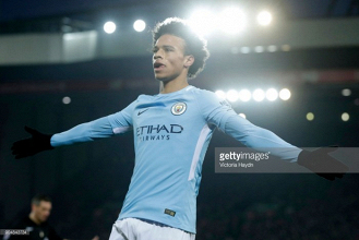 Leroy Sané shares disappointment as City lose unbeaten league run to masterful Liverpool