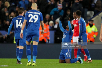 Leicester boss Puel pleased with 'good response' against Fleetwood