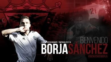 Borja Sánchez, nuevo refuerzo del Mirandés