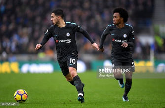 Brighton 0-4 Chelsea: Seagulls outclassed by Eden Hazard and Willian
