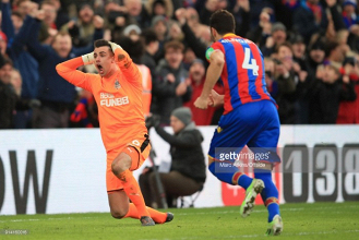 Crystal Palace 1-1 Newcastle United: Milivojevic earns point for wasteful Eagles