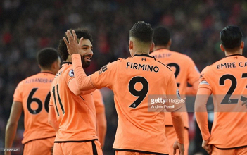 Southampton 0-2 Liverpool: Firmino and Salah down Saints as Reds move up to third