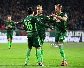 Werder Bremen 3-1 VfL Wolfsburg: Florian Kainz double gives hosts breathing space at the bottom