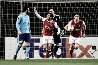 Marseille perde invencibilidade diante do Braga, mas se qualifica às oitavas da UEL