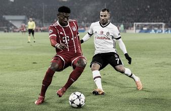 Resultado Besiktas x Bayern de Munique pela Champions League 2018 (1-3)
