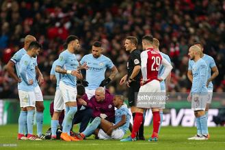 Manchester City confirm Fernandinho's hamstring strain ahead of Arsenal clash