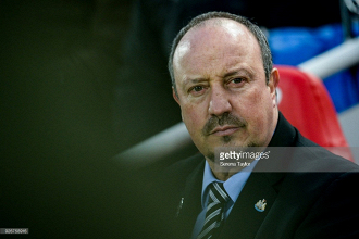Rafa Benitez says he is 'happy with the approach of this team' despite defeat away at Liverpool
