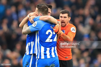 Shane Duffy delighted for Lewis Dunk after scoring against Arsenal