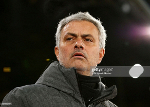 José Mourinho delighted with his side's first half performance in the 2-0 win against Swansea City