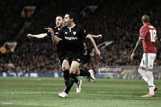 Ben Yedder gelou Old Trafford e United está fora da Liga dos Campeões