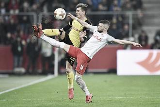 RB Salzburg faz história, elimina Borussia Dortmund e segue na Europa League