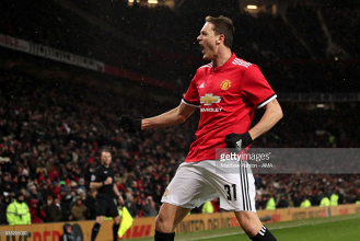 Manchester United 2-0 Brighton & Hove Albion: Lukaku and Matic head Red Devils into Wembley semis