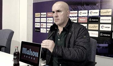 """Luis César Sampedro: """"Es un partido importante, pero no una final o un partido decisivo"""""""