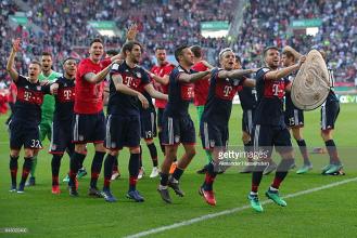 FC Augsburg 1-4 Bayern Munich: Die Roten become Bundesliga champions once more