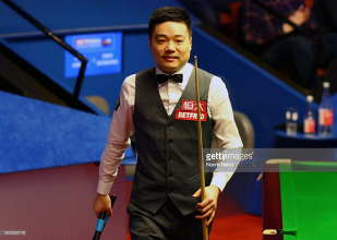 Ding Junhui, Judd Trump and Mark Williams safely through to Crucible quarter-finals