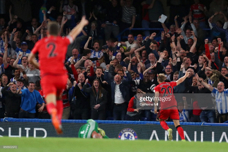 Chelsea 1-1 Huddersfield Town: Depoitre goal seals point to secure Terriers' Premier League safety