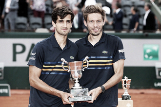 French Open: Herbert/Mahut defeat Marach/Pavic in straight sets to win home Grand Slam